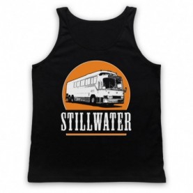 Almost Famous Stillwater Adults Black Tank Top