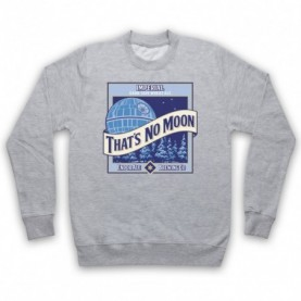 Star Wars That's No Moon Imperial Dark Side Wheat Ale Adults Heather Grey Sweatshirt