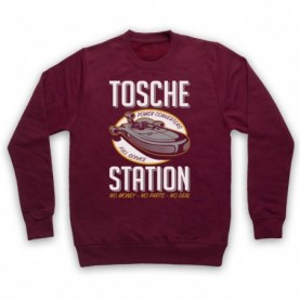 Star Wars Tosche Station Adults Burgundy Sweatshirt