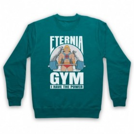 He-Man Eternia Gym I Have The Power Hoodie Sweatshirt Hoodies & Sweatshirts