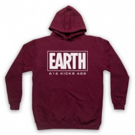 Marvel Comics Earth 616 Kicks Ass Hoodie Sweatshirt Hoodies & Sweatshirts