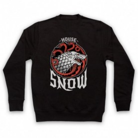 Game Of Thrones House Snow Hoodie Sweatshirt Hoodies & Sweatshirts