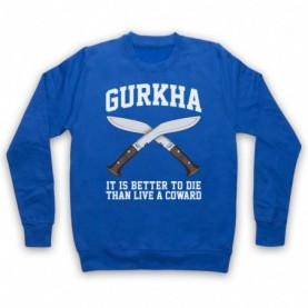 Gurkha Motto It Is Better To Die Than Live A Coward Hoodie Sweatshirt Hoodies & Sweatshirts