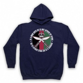 Gurkha Regiment Sam Manekshaw Army Quote Hoodie Sweatshirt Hoodies & Sweatshirts