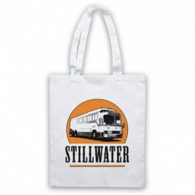 Almost Famous Stillwater White Tote Bag