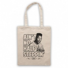 Big Daddy Kane Ain't No Half Steppin' Natural Tote Bag