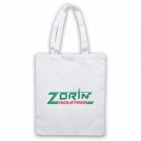 James Bond A View To A Kill Zorin Industries White Tote Bag