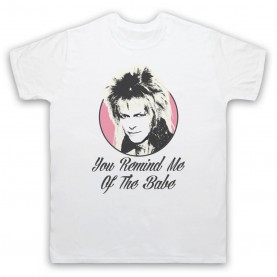 Labyrinth Goblin King You Remind Me Of The Babe Mens White T-Shirt