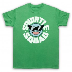 Pokemon Squirtle Squad Mens Green T-Shirt