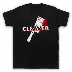 Sopranos Cleaver Film Mens Black T-Shirt