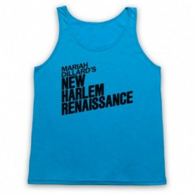 Luke Cage Mariah Dillard's New Harlem Renaissance Adults Neon Blue Tank Top