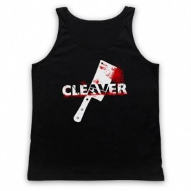 Sopranos Cleaver Film Adults Black Tank Top