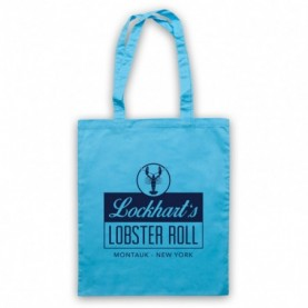 Affair Lockhart's Lobster Roll Restaurant Light Blue Tote Bag