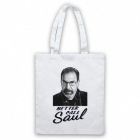 Homeland Better Call Saul Berenson Parody White Tote Bag