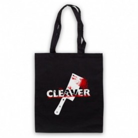 Sopranos Cleaver Film Black Tote Bag