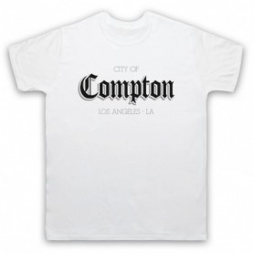 City Of Compton Los Angeles Mens White T-Shirt
