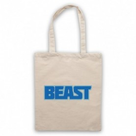Beast Bodybuilding Gym Workout Slogan Natural Tote Bag
