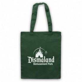 Banksy Dismaland Bemusement Park Dark Green Tote Bag