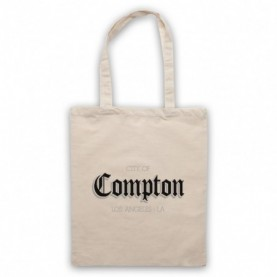 City Of Compton Los Angeles Natural Tote Bag