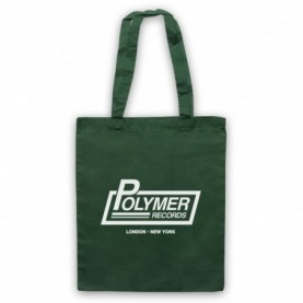 Spinal Tap Polymer Records Dark Green Tote Bag