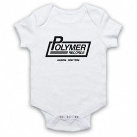 Spinal Tap Polymer Records White Baby Grow