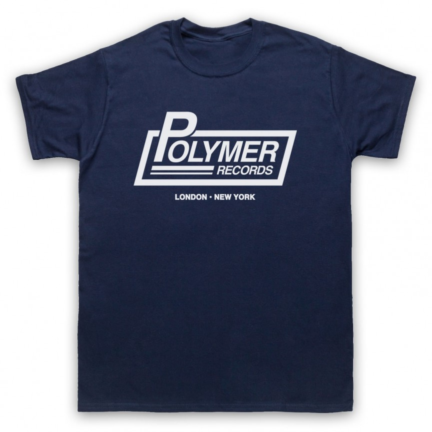 Spinal Tap Polymer Records Mens Navy Blue T-Shirt