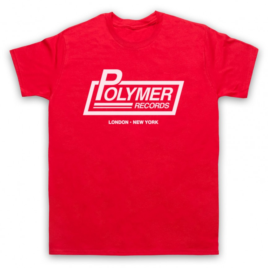Spinal Tap Polymer Records Mens Red T-Shirt