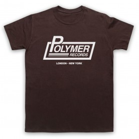 Spinal Tap Polymer Records Mens Brown T-Shirt