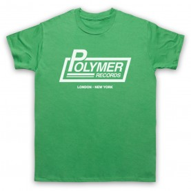 Spinal Tap Polymer Records Mens Green T-Shirt