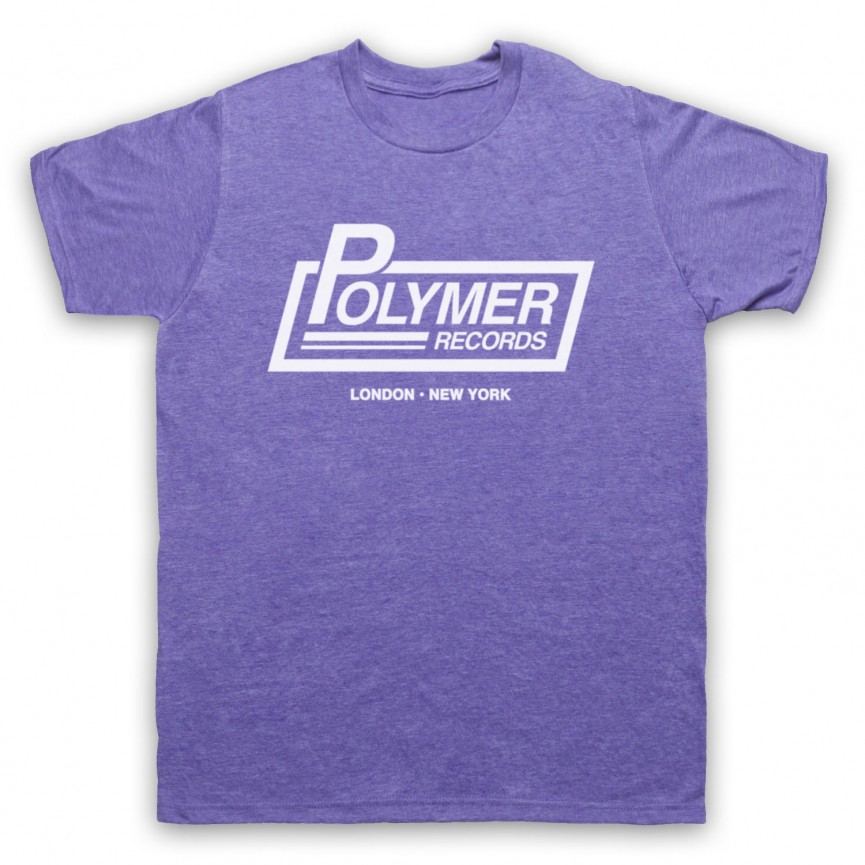 Spinal Tap Polymer Records Mens Heather Purple T-Shirt
