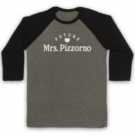 Future Mrs Pizzorno Serge Pizzorno Kasabian Adults Grey & Black Baseball Tee