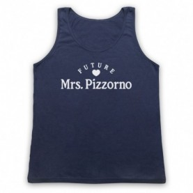 Future Mrs Pizzorno Serge Pizzorno Kasabian Adults Navy Blue Tank Top