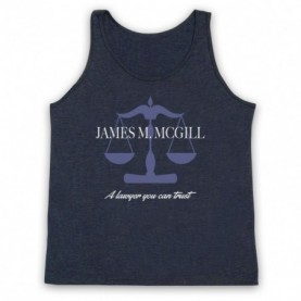 Better Call Saul James M McGill A Lawyer You Can Trust Adults Heather Navy Blue Tank Top