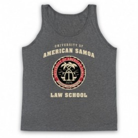 Better Call Saul University Of American Samoa Law School Adults Heather Grey Tank Top