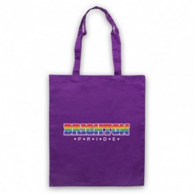 Brighton Pride LGBT Festival Purple Tote Bag