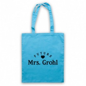 Future Mrs Grohl Dave Grohl Foo Fighters Light Blue Tote Bag