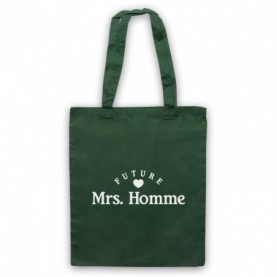 Future Mrs Homme Josh Homme QOTSA Dark Green Tote Bag