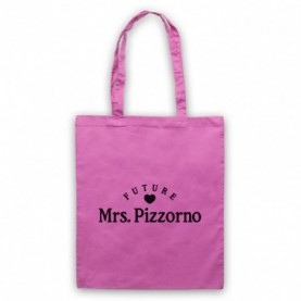 Future Mrs Pizzorno Serge Pizzorno Kasabian Pink Tote Bag