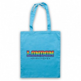 London Pride LGBT Festival Light Blue Tote Bag