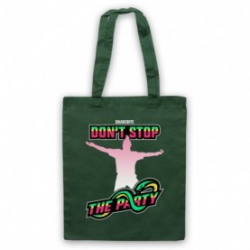 Peter Wright Snakebite Don't Stop The Party Dark Green Tote Bag