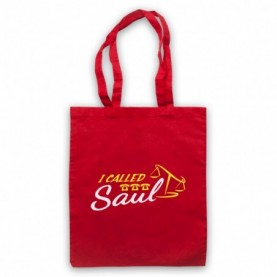 Better Call Saul I Called Saul Red Tote Bag