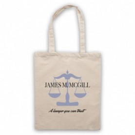 Better Call Saul James M McGill A Lawyer You Can Trust Natural Tote Bag