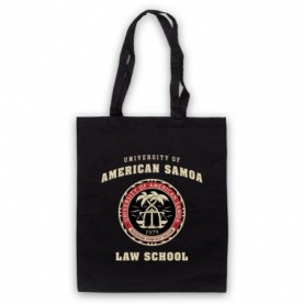 Better Call Saul University Of American Samoa Law School Black Tote Bag