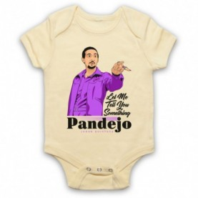 Big Lebowski Jesus Quintana Rolls Pandejo Light Yellow Baby Grow