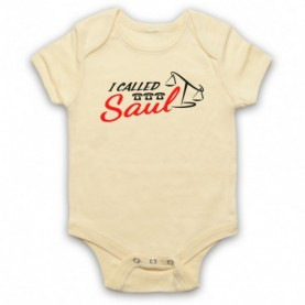 Better Call Saul I Called Saul Light Yellow Baby Grow