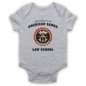 Better Call Saul University Of American Samoa Law School Heather Grey Baby Grow