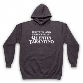 Pulp Fiction Credits Written And Directed By Quentin Tarantino Hoodie Sweatshirt Hoodies & Sweatshirts