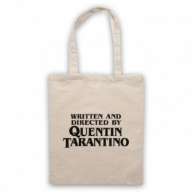 Pulp Fiction Credits Written And Directed By Quentin Tarantino Natural Tote Bag