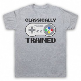 Classically Trained SNES Console Controller T-Shirt T-Shirts