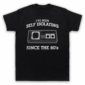 I've Been Self Isolating Since The 80's Master System Console Controller T-Shirt T-Shirts